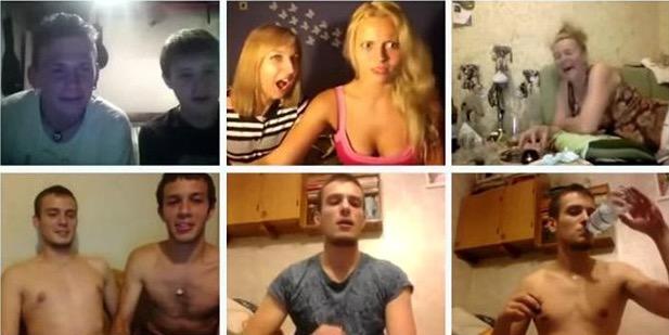русские в chatroulette